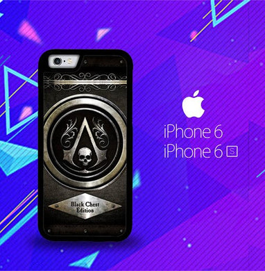 Assassins Creed Black Flag Logo Z0067 coque iPhone 6, iPhone 6S