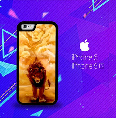 Disney Lion King Z0074 coque iPhone 6, iPhone 6S