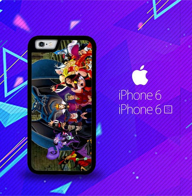 New Disney Villains Z1466 coque iPhone 6, iPhone 6S
