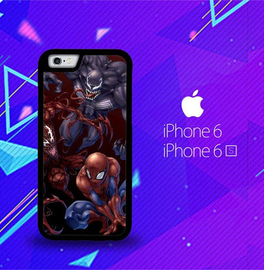 Spiderman Venom Carnage Back Z1619 coque iPhone 6, iPhone 6S