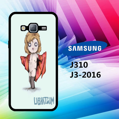 coque J3 2016 J310 J3 2017 J330 J5 2016 J510 J5 2017 J530 case A1009 creepy doll wallpaper 60aH5