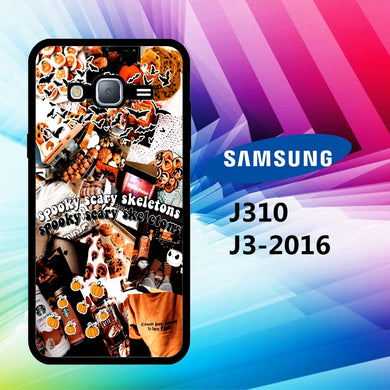 coque J3 2016 J310 J3 2017 J330 J5 2016 J510 J5 2017 J530 case N3485 cute halloween wallpaper 61gB8
