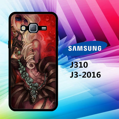 coque J3 2016 J310 J3 2017 J330 J5 2016 J510 J5 2017 J530 case U1562 creepy doll wallpaper 60yI3