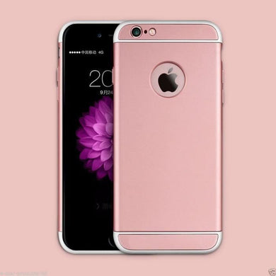 Coque Housse Etui Rigide Silicone Armor Anti Choc Rose Apple iPhone 6 47