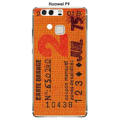 Coque huawei p9 orange