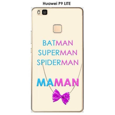 Coque Huawei P8 LITE design Maman vs Batman