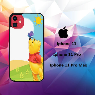 coque iphone 11 pro max case A4057 winnie the pooh wallpaper 107hO9