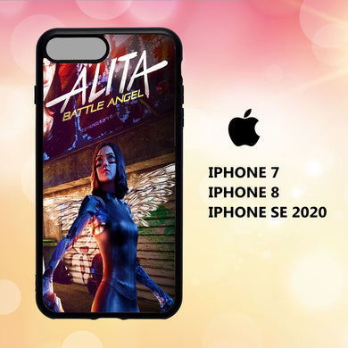 coque iphone 5 6 7 8 plus x xs xr case P1057 alita wallpaper 2nT1