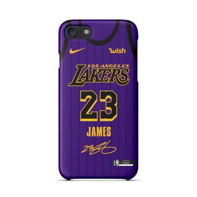Coque iPhone 7 Plus 8 PlusNike NBA Lakers S AntiChoc Premium Coque Compatible iPhone 7 Plus 8 Plus