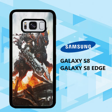 coque samsung galaxy S6 S7 S8 S9 S10 edge case I2154 dark fantasy wallpaper 18zE4