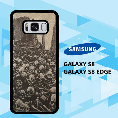 coque samsung galaxy S6 S7 S8 S9 S10 edge case M6735 dark fantasy wallpaper 18fH0