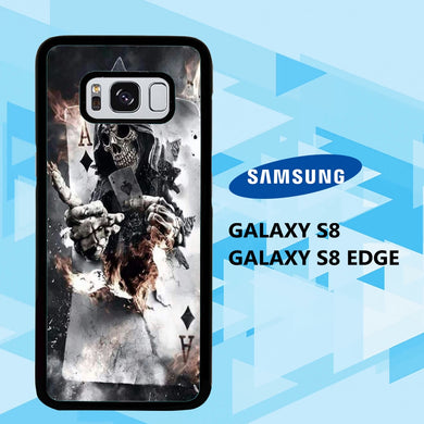 coque samsung galaxy S6 S7 S8 S9 S10 edge case W2325 dark fantasy wallpaper 18eC8