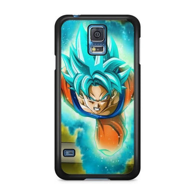 Coque Samsung Galaxy S5 Goku Super Saiyan Blue vs Black