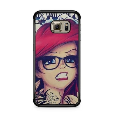 Coque Samsung Galaxy S7 EDGE Disney princesse tatoué case ariel white snow  Alice REF10341 REF 260
