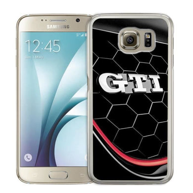 Coque samsung galaxy s7 edge balle de golf feu