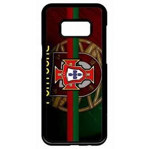 Coque Samsung Galaxy S8 PLUS design Ronaldo fond Portugal