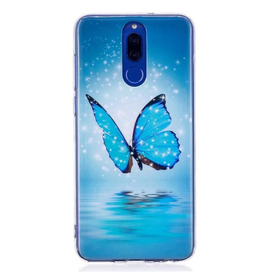 Coque Huawei Mate 10 Lite TPU Souple Morning Glory Protection Coque Téléphone Portable Phone Case Cover
