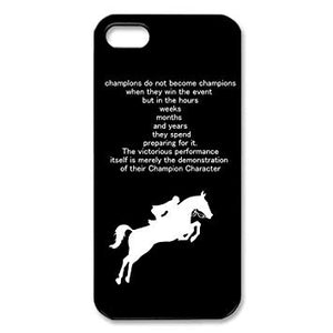 coque de iphone 5 cheval