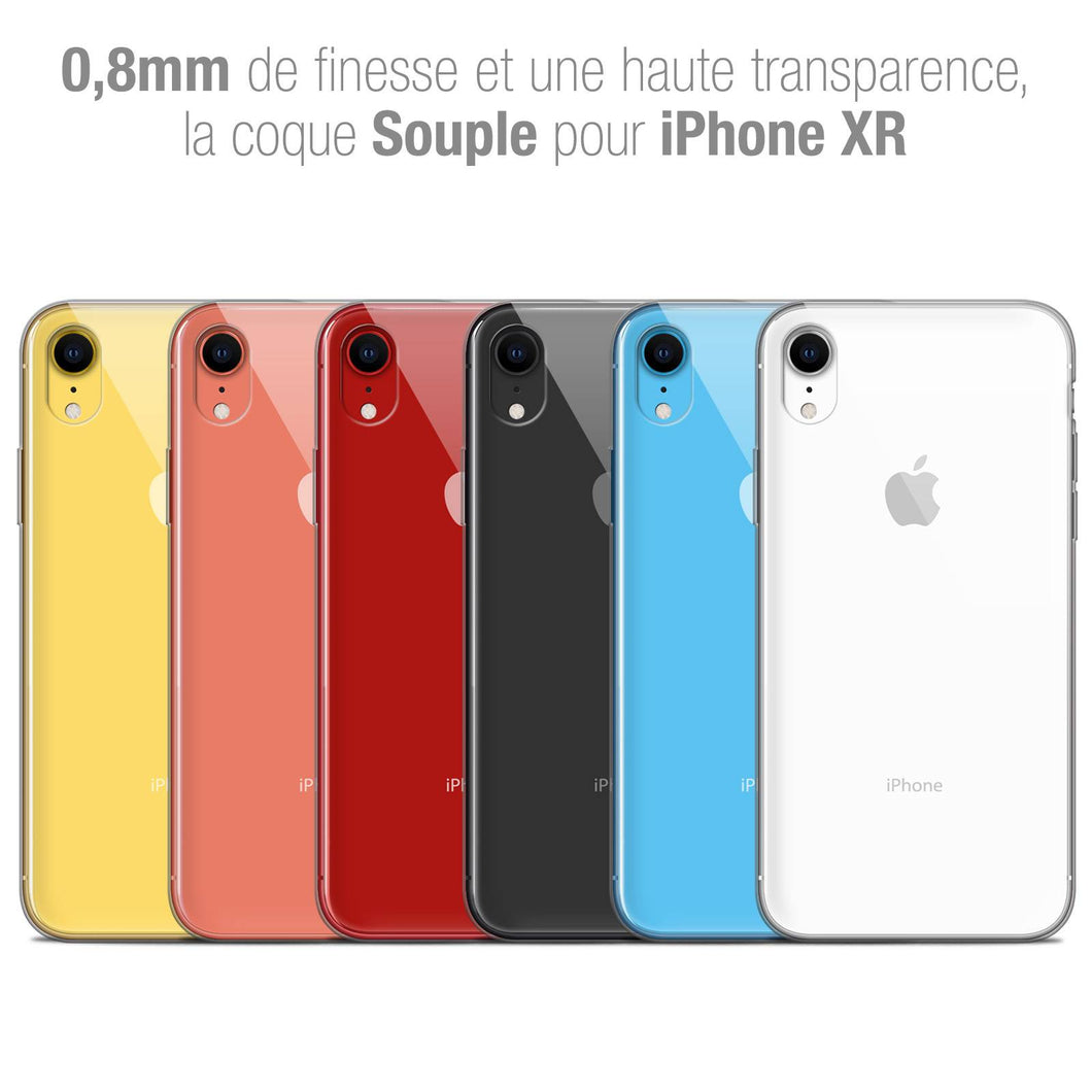 coque fine iphone xr 1 mm