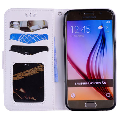 coque galaxy s6 portefeuille licorne