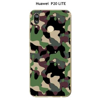 coque huawei p20 lite motif camouflage