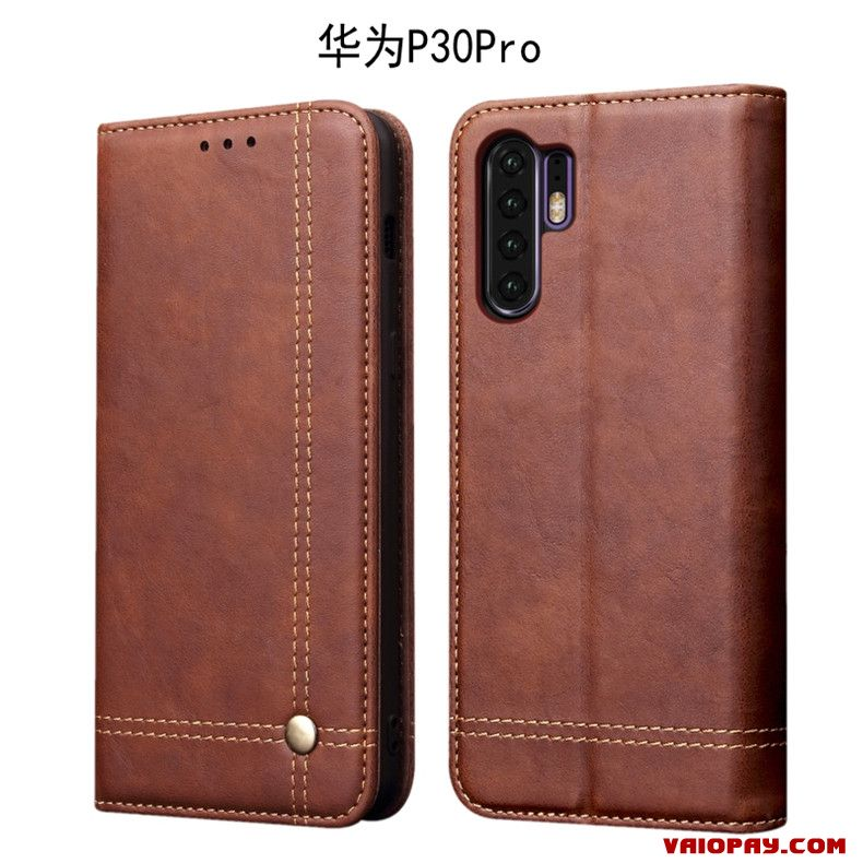 coque huawei p30 pro orange