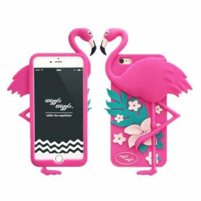 coque iphone 4 flaman rose