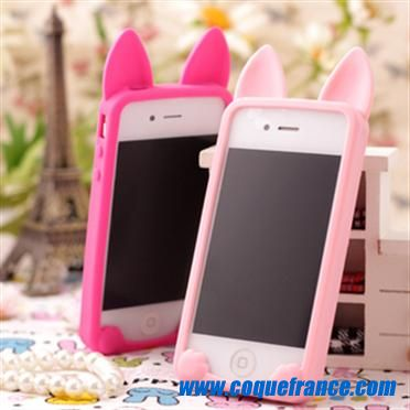 coque iphone 4 silicone pas cher