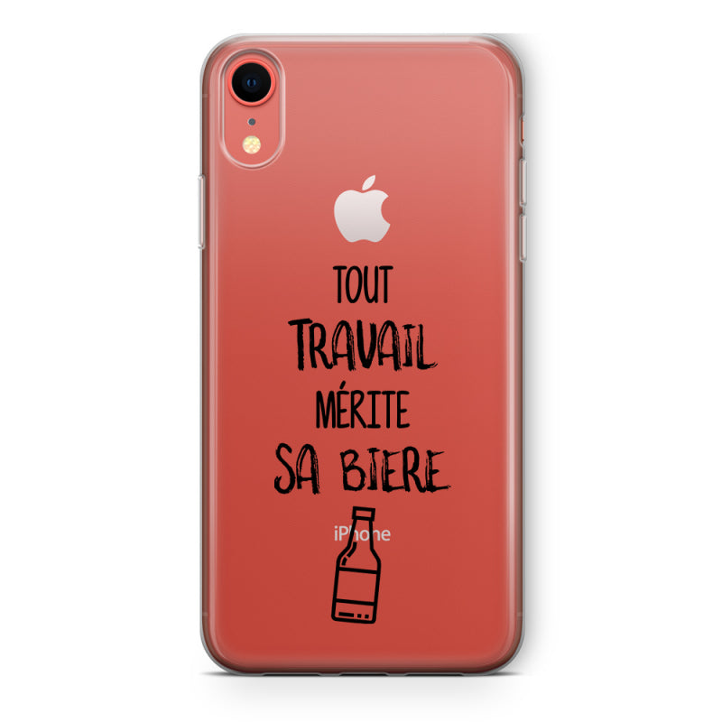 coque iphone xr biere