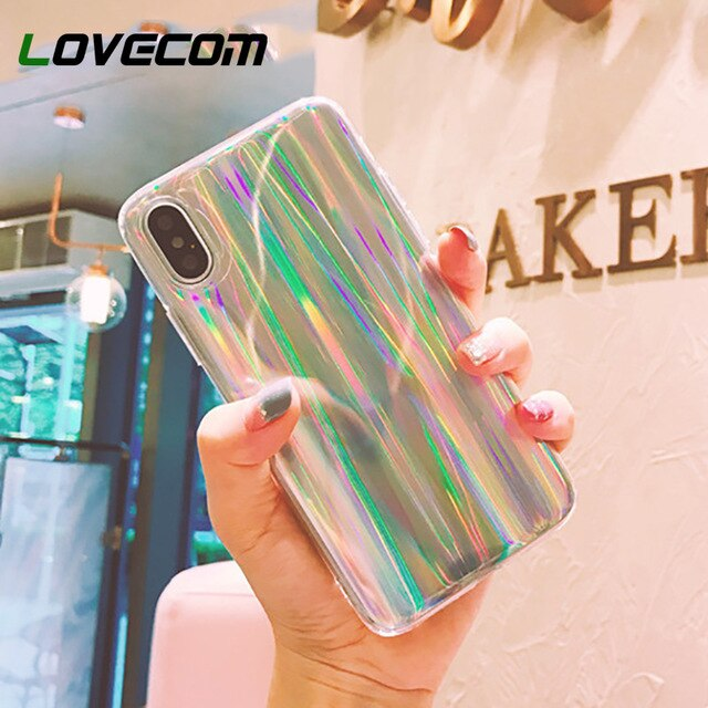 coque iphone xr holographique