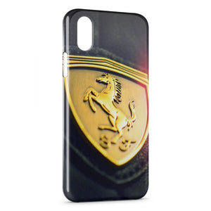 coque iphone xr logo voiture