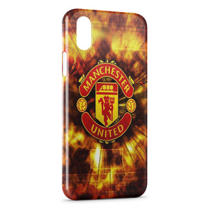 coque iphone xr manchester united