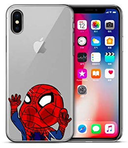 coque iphone xr marvel transparente