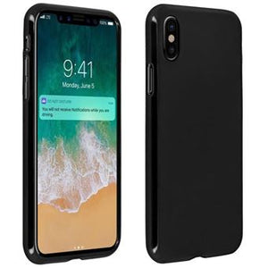coque iphone xr noir mat