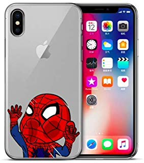 coque iphone xs dur spiderman