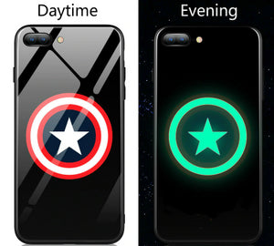 coque iphone xs lumineuse super hero