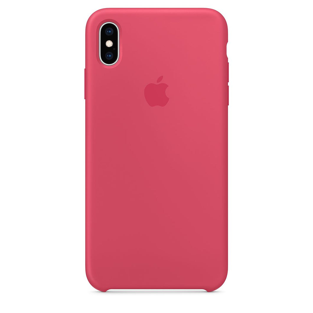 coque iphone xs max apple blanche