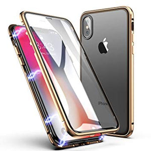 coque iphone xs max silicone magnetique