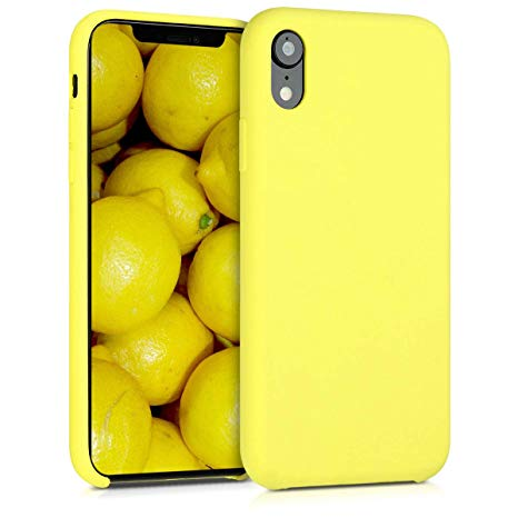 coque jaune apple iphone xr