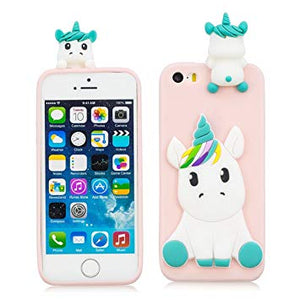 coque licorne silicone iphone 5