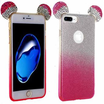 coque rose paillette iphone 7