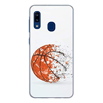 coque samsung a20e basketball