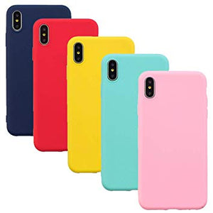 coque silicone iphone xs jaune