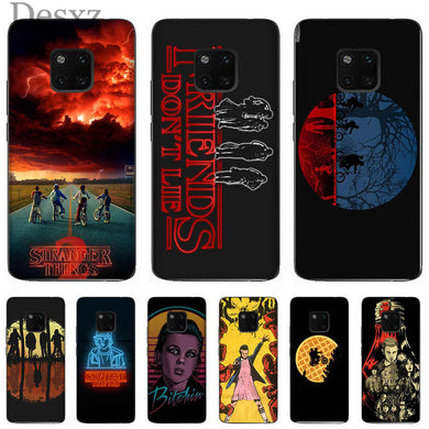 coque stranger things huawei y5 2019