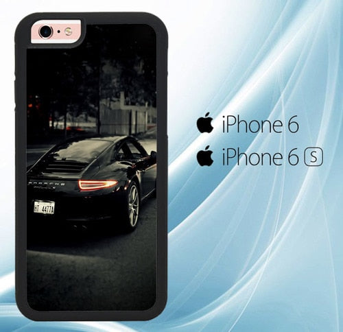Porsche 911 Carrera S X5973 coque iPhone 6, iPhone 6S