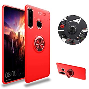 huawei p30 lite coque silicone rouge