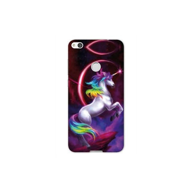 huawei p8 coque fille licorne