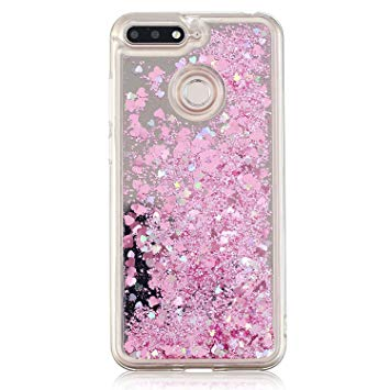 huawei y6 2018 coque paillette