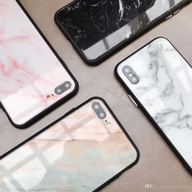 MARBRE COQUE IPHONE 6S 6 7 Plus 8 X XR XS MAX + PROTECTION FILM VERRE  TREMPE