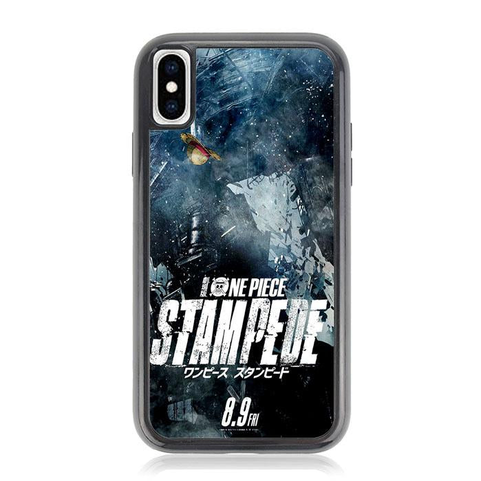 one piece movie stampede Z4354 iPhone XS Max coque